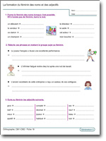 Orthographe Cm1 Cm2