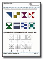 Num ration et op rations au cm1 - Les fractions cm1 exercices a imprimer ...