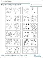 Mathematiques En Maternelle Grande Section
